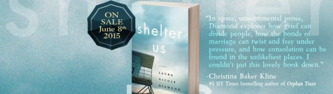 Shelter Us, a novel, by Laura Diamond